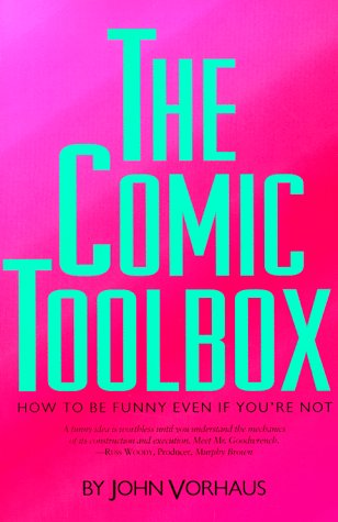 Comic Toolbox How to Be Funny Even If You're Not  2015 edition cover