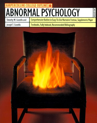 Abnormal Psychology  2nd 9780064671217 Front Cover