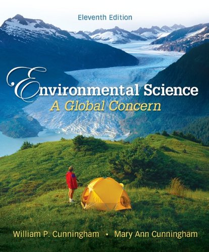 Environmental Science A Global Concern 11th 2010 edition cover