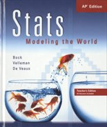 Stats Modeling the World 2nd 2006 9780131876217 Front Cover