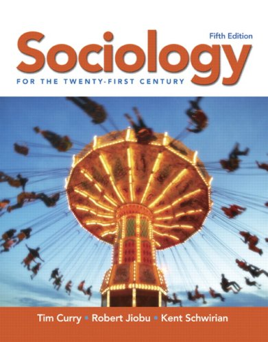 Sociology for the Twenty-First Century  5th 2008 edition cover