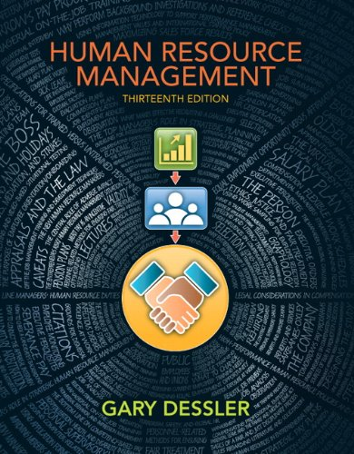 Human Resource Management  13th 2013 (Revised) edition cover