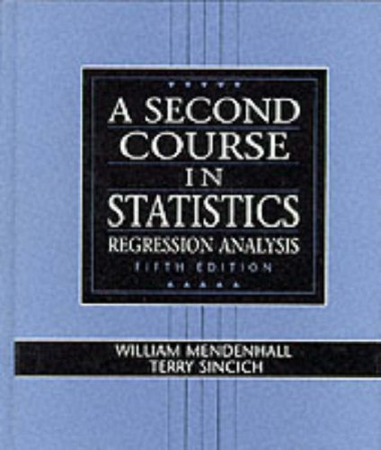 Second Course in Statistics Regression Analysis 5th 1996 9780133968217 Front Cover