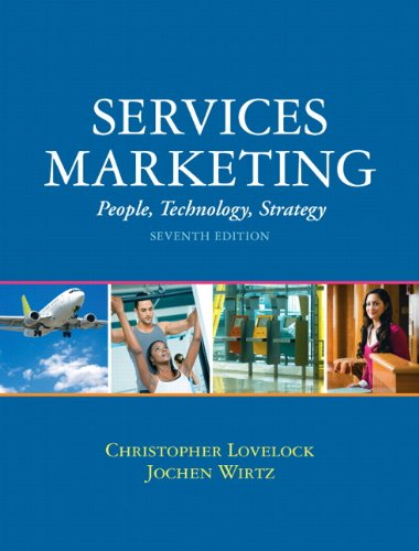 Services Marketing People, Technology, Strategy 7th 2011 edition cover