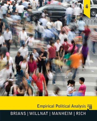 Empirical Political Analysis  8th 2011 edition cover