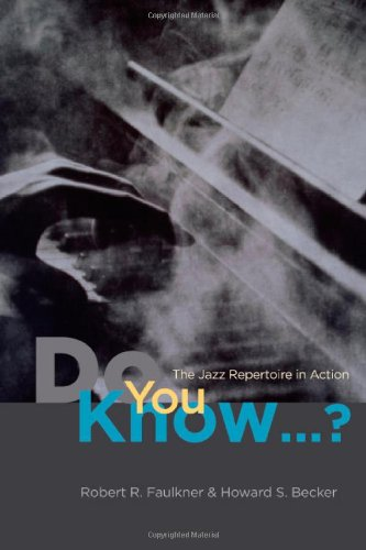 Do You Know... ? The Jazz Repertoire in Action  2009 edition cover