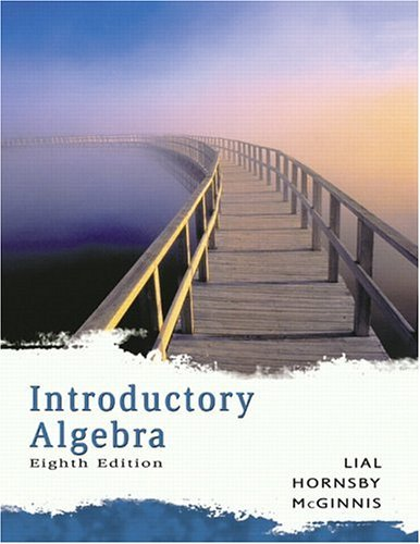Introductory Algebra  8th 2006 (Revised) edition cover