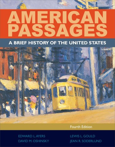 American Passages A History of the United States 4th 2012 (Brief Edition) edition cover