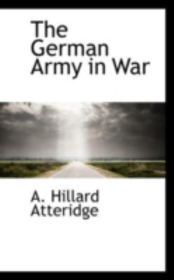 The German Army in War:   2008 edition cover