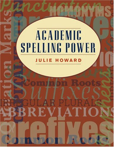 Academic Spelling Power   2007 edition cover