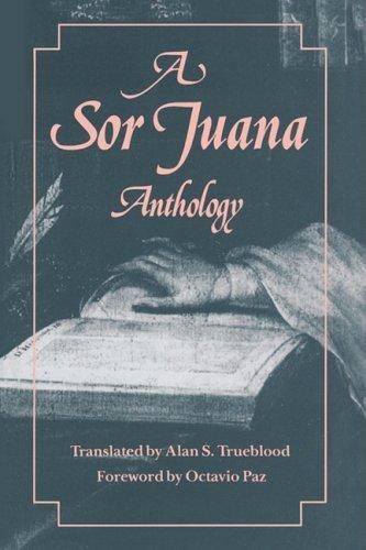 Sor Juana Anthology   1988 edition cover