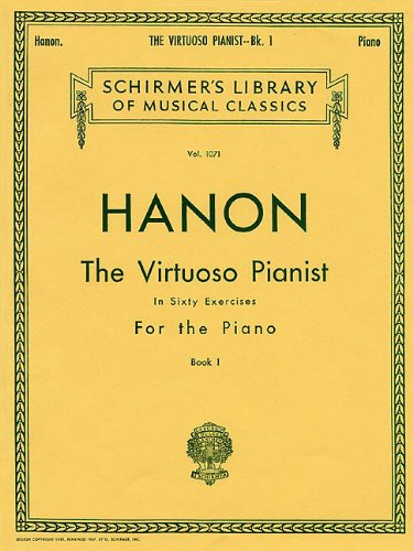 Virtuoso Pianist in 60 Exercises For the Piano N/A edition cover