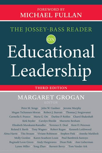 Jossey-Bass Reader on Educational Leadership  3rd 2013 9781118456217 Front Cover