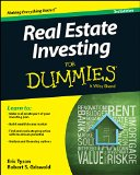 Real Estate Investing for Dummies�  3rd 2014 edition cover