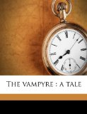 Vampyre  N/A 9781177655217 Front Cover