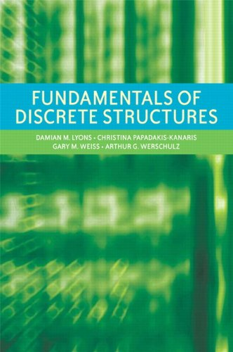 Fundamentals of Discrete Structures:   2012 edition cover