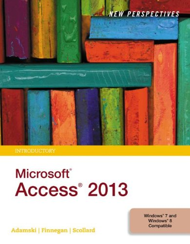 New Perspectives on Microsoft� Access 2013, Introductory   2014 edition cover