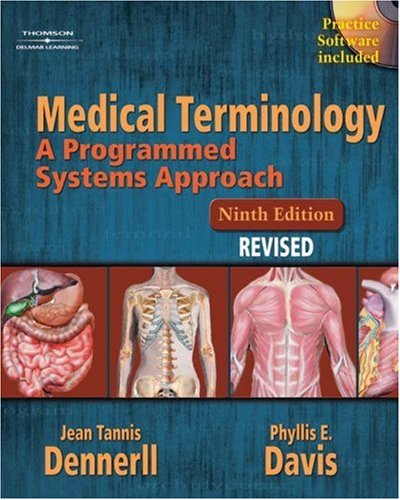 Medical Terminology A Programmed Systems Approach Revised 9th 2005 (Revised) edition cover