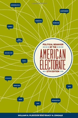 Political Behavior of the American Electorate  12th 2008 (Revised) edition cover