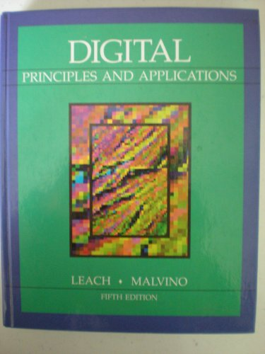 Digital Principles and Applications  5th 1995 edition cover