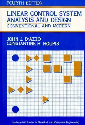 Linear Control System Analysis and Design Conventional and Modern 4th 1995 9780070163218 Front Cover