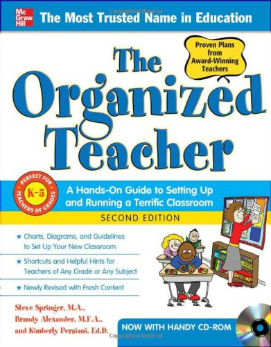 Organized Teacher  2nd 2011 (Revised) edition cover
