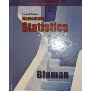 ELEMENTARY STATISTICS >ANNOT INSTRS.ED< N/A edition cover