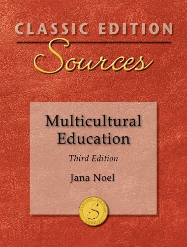 Multicultural Education  3rd 2012 edition cover