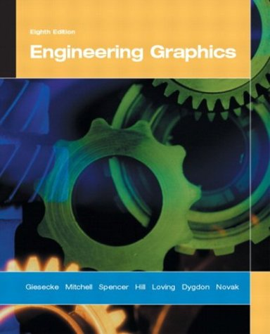 Engineering Graphics  8th 2004 (Revised) edition cover