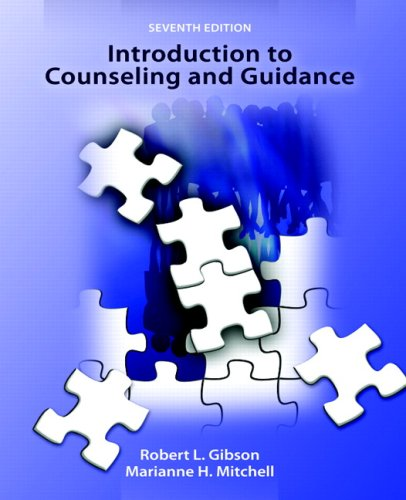 Introduction to Counseling and Guidance  7th 2008 edition cover