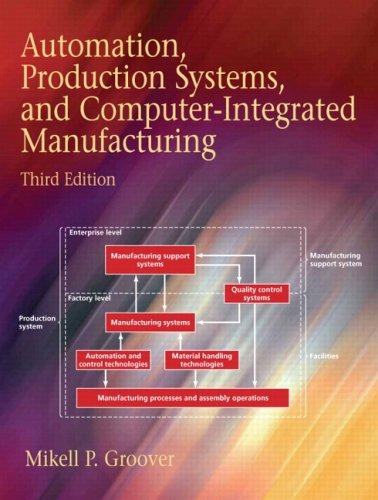 Automation, Production Systems, and Computer-Integrated Manufacturing  3rd 2008 9780132393218 Front Cover