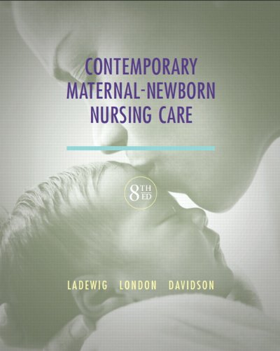 Contemporary Maternal-Newborn Nursing Care  8th 2014 9780132843218 Front Cover