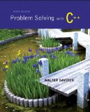 Problem Solving with C++  9th 2015 edition cover