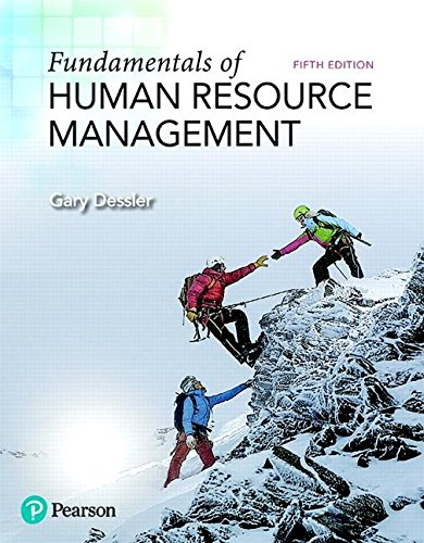 Fundamentals of Human Resource Management:   2018 9780134740218 Front Cover