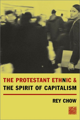 Protestant Ethnic and the Spirit of Capitalism   2002 edition cover
