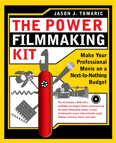 Power Filmmaking Kit Make Your Professional Movie on a Next-to-Nothing Budget  2008 edition cover