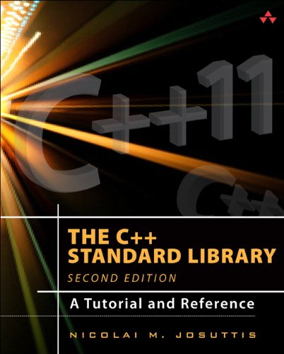 C++ Standard Library A Tutorial and Reference 2nd 2012 (Revised) edition cover