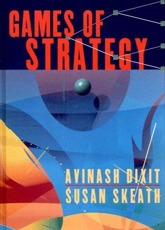 Games of Strategy   2000 edition cover