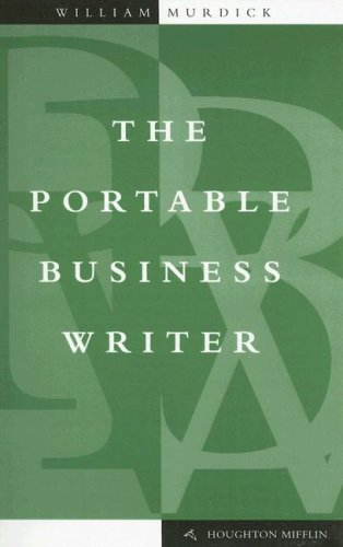 Portable Business Writer   1999 edition cover