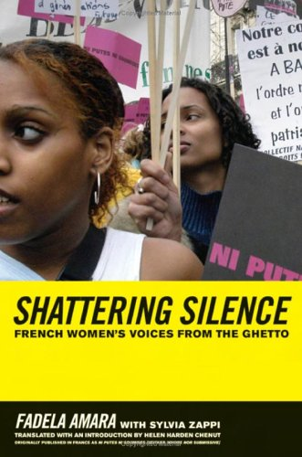Breaking the Silence French Women's Voices from the Ghetto  2006 edition cover