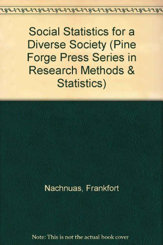 Social Statistics for a Diverse Society:  1st 1999 9780761986218 Front Cover
