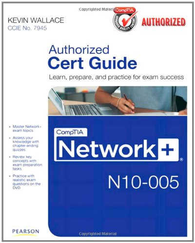 CompTIA Network+ N10-005 Learn, Prepare, and Practice for Exam Success  2012 edition cover