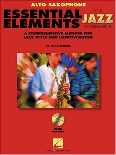 Essential Elements for Jazz Ensemble : Alto Sax 1st edition cover