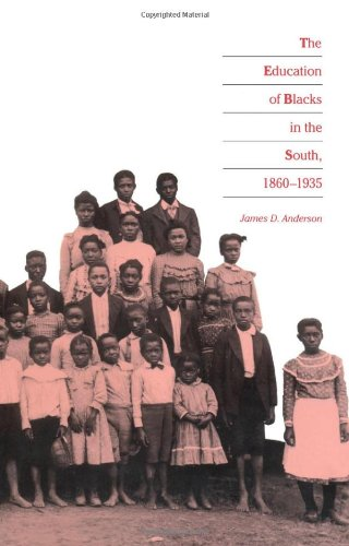 Education of Blacks in the South, 1860-1935   1988 edition cover