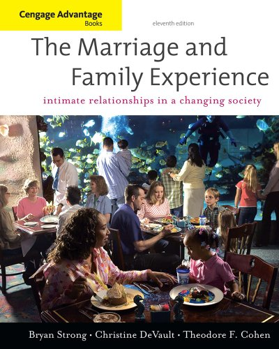 Marriage and Family Experience Relationships Changing Society 11th 2011 edition cover