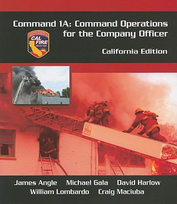 Command 1A Command Operations for the Company Officer  2012 edition cover