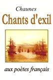 Chants D'exil  Large Type 9781489508218 Front Cover