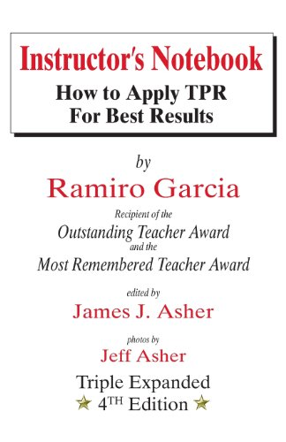 Instructor's Notebook How to Apply TPR for Best Results 4th (Enlarged) edition cover