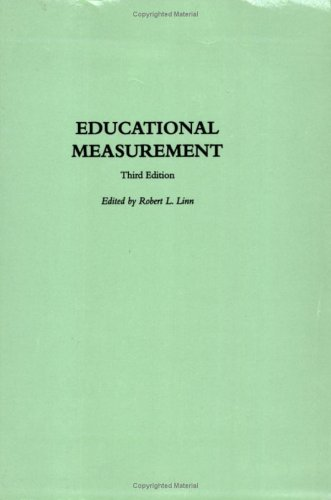 Educational Measurement  3rd (Reprint) 9781573562218 Front Cover