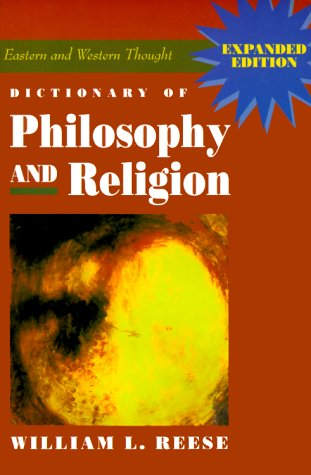 Dictionary of Philosophy and Religion  2nd 1996 edition cover